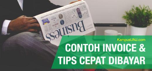 Contoh Invoice & Tips Ampuh Agar Cepat Dibayar